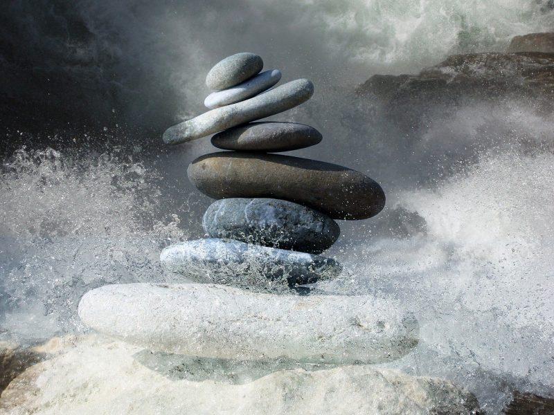 el equilibrio en la tempestad