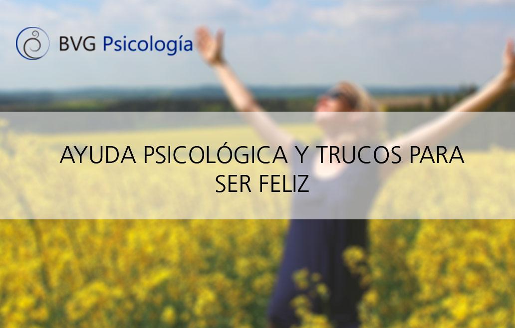 Ayuda psicológica para ser feliz