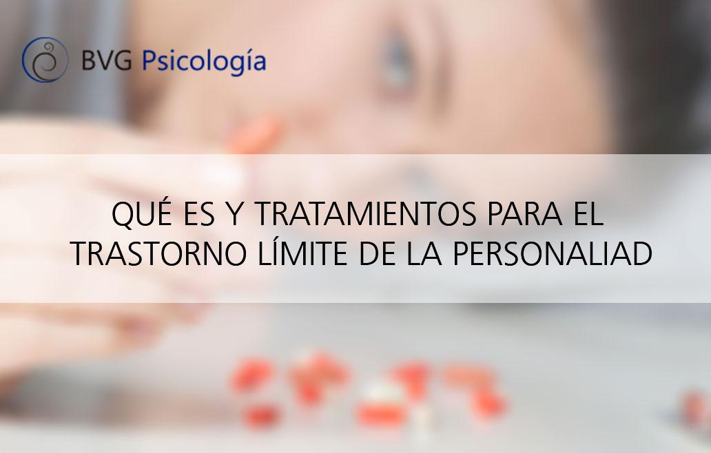 Tratamiento del trastorno límite de la personalidad