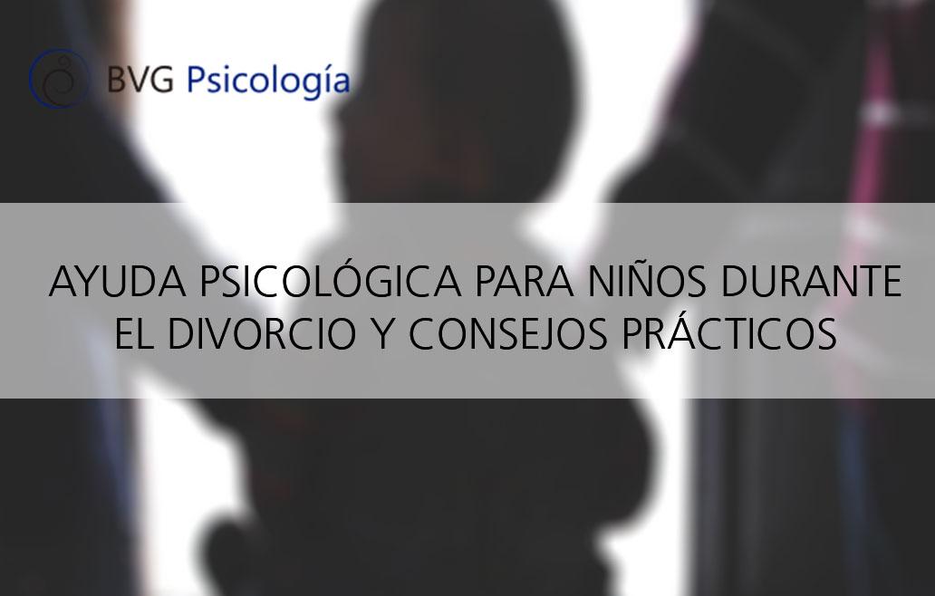 ayuda psicológica para llevar el divorcio con niños