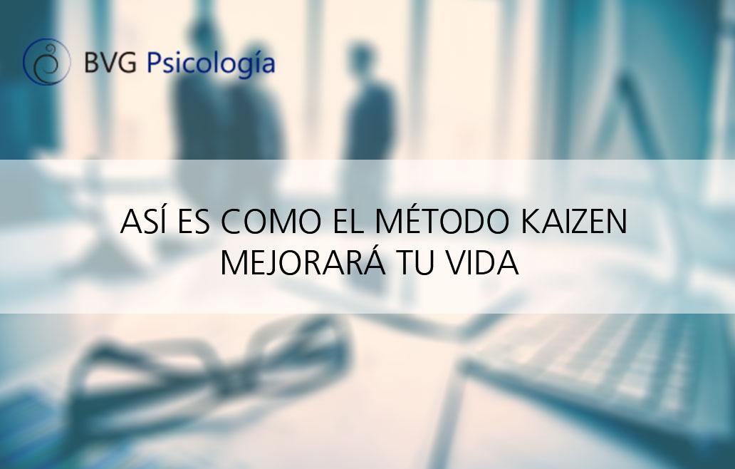 Cambia tu vida con el método Kaizen