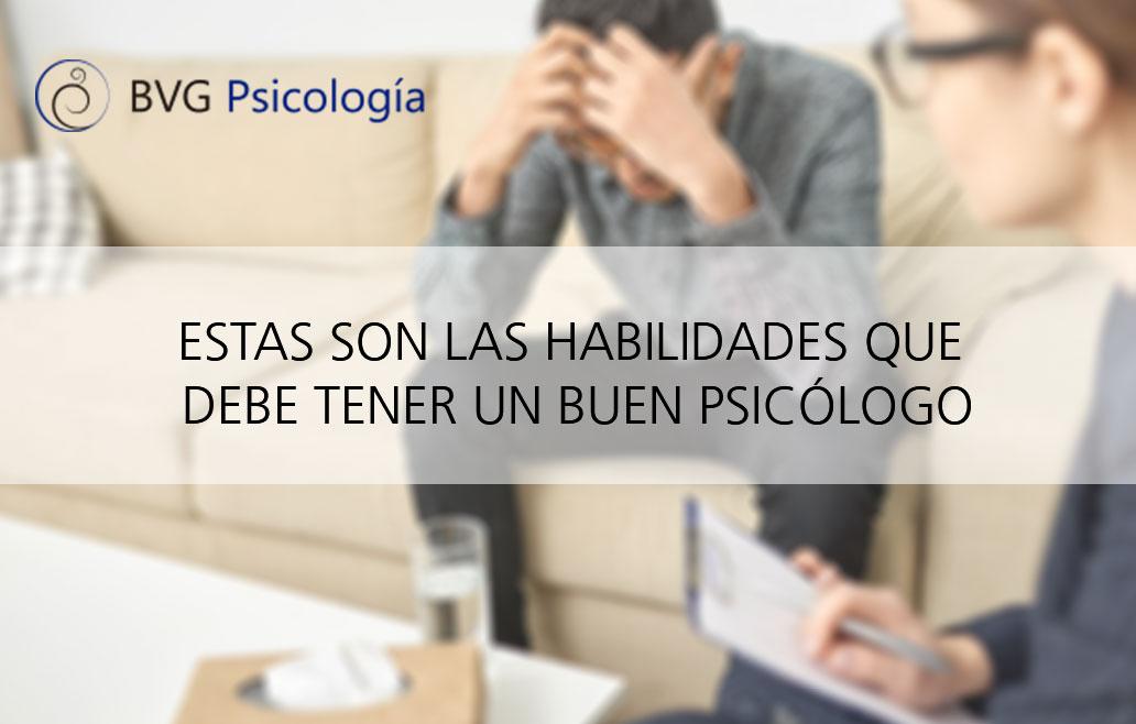 Características de un buen psicólogo